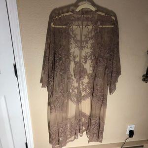 Pinkblush Other - Lace boho kimono